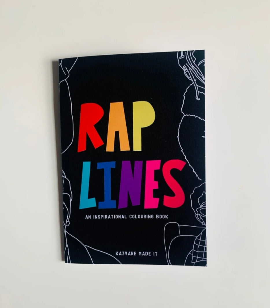 Rap Lines Colouring Book