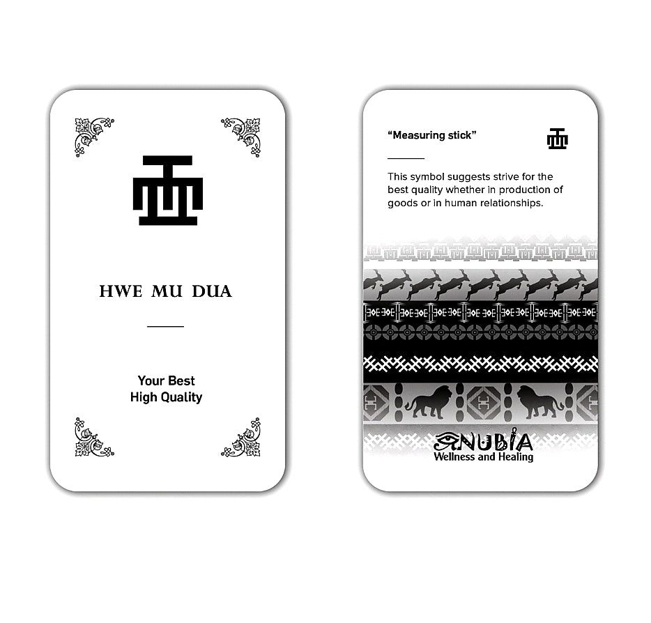 Know Thy Self Adinkra Cards