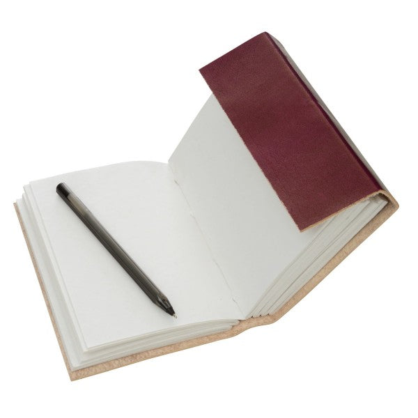 Leather 3-string Notebook