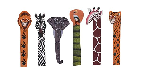 Leather Animal Bookmark