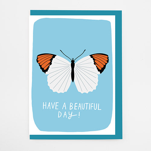 Beautiful Day Butterflies Card
