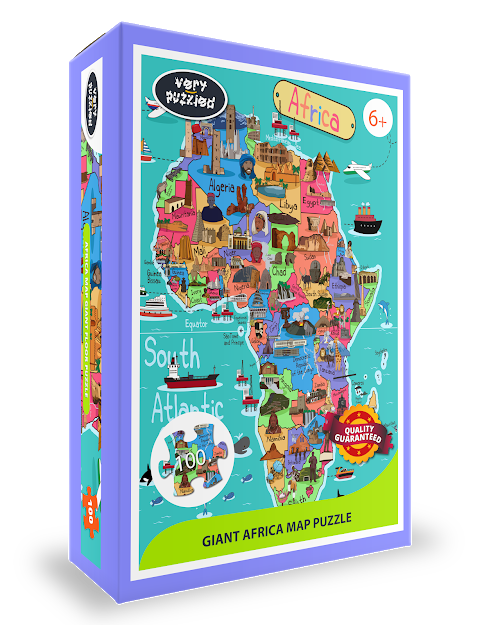 Africa Map Jigsaw Puzzle