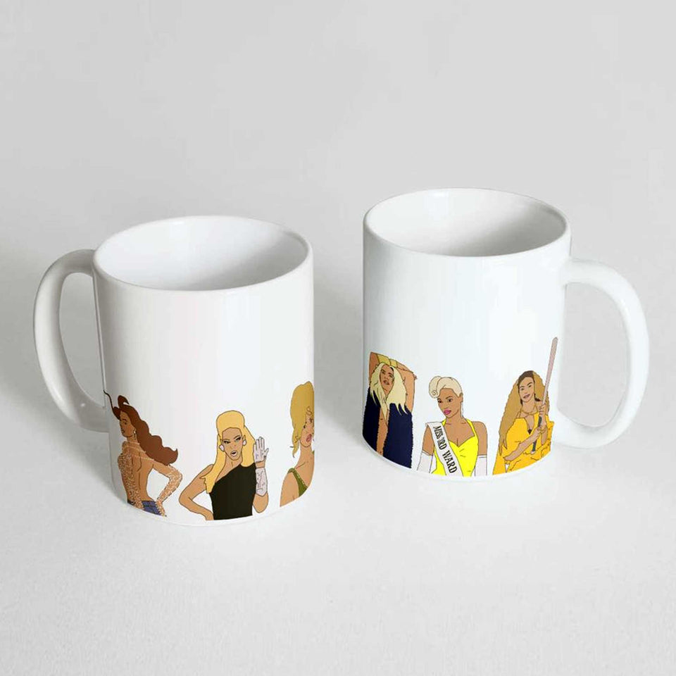 BeyCup Mug - Coffee with Beyonce - design by Kazvare Knox.