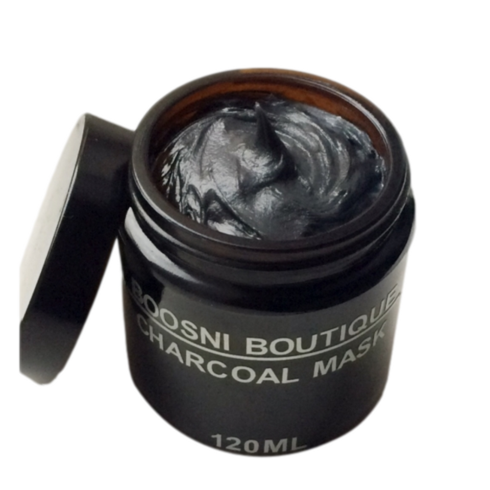 Boosni Boutique Charcoal and Matcha Tea Mask