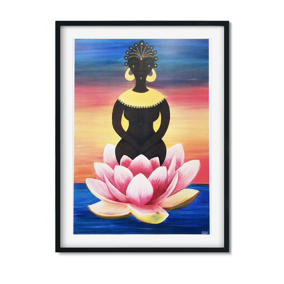 Goddess Rising Art Print