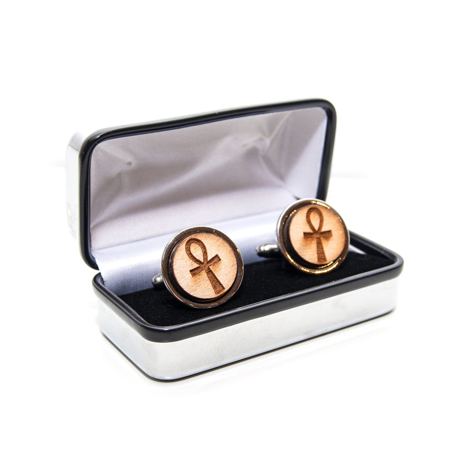 Anke cufflinks in presentation case