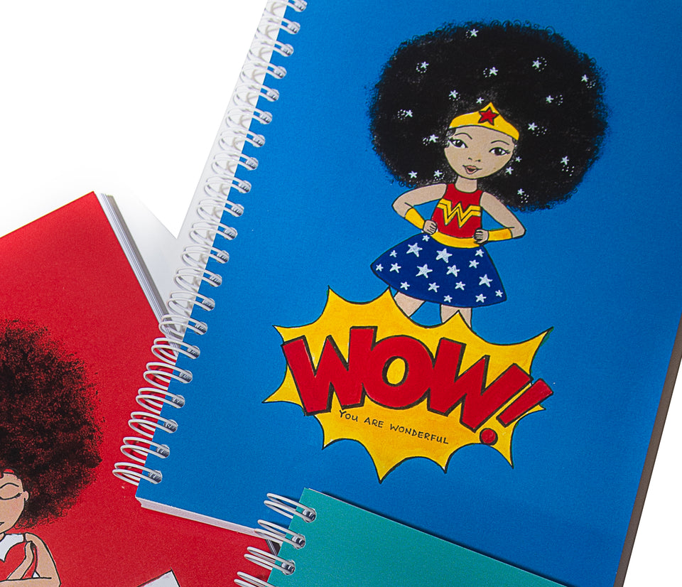 Afro Wow Notebooks