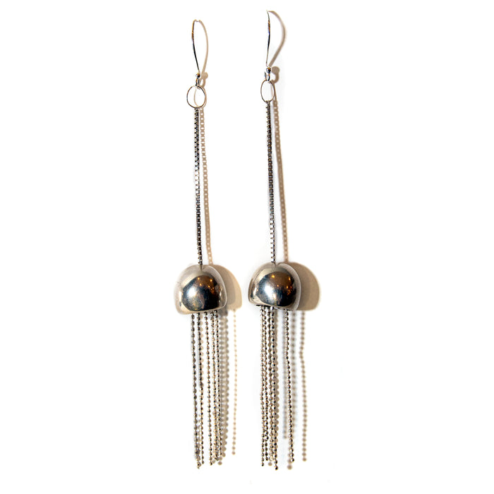 Carol Cole  The Mark 1 Contemporary Tassel Drop Earrings