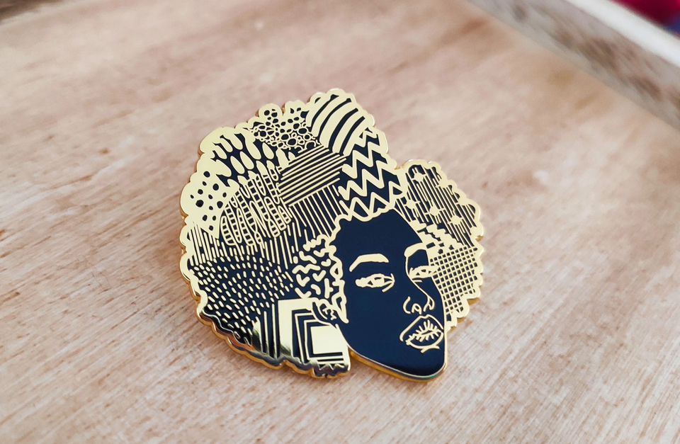 Dorcas Creates Enamel Pin