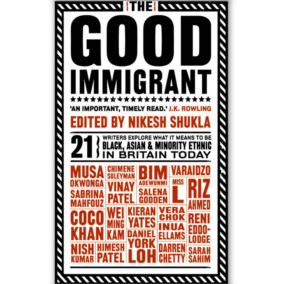 Politics, emigration, anthologies, immigration, essays collection, experiences, immigrants, funny, britain, writers, ethnic, colour, british minority