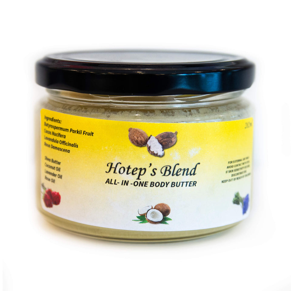 Holep's Blend all-in-one Body Butter