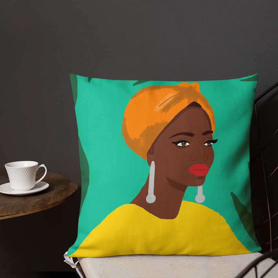 Babes Art Cushion