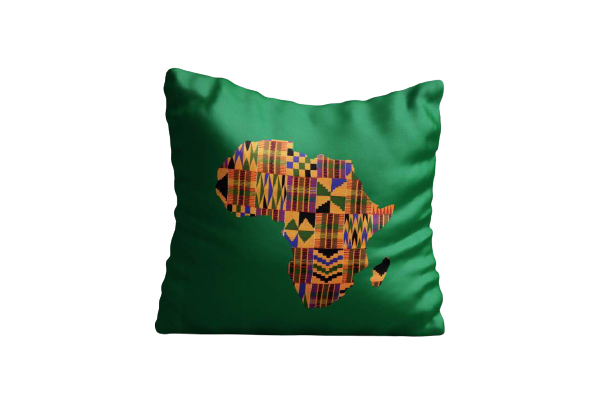 Kente Africa Art Cushion