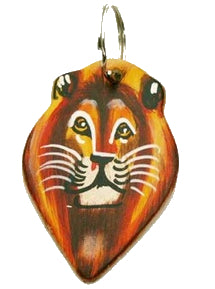 Leather Animal Keyring