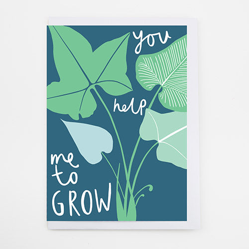 Grow Flora Greeting Card