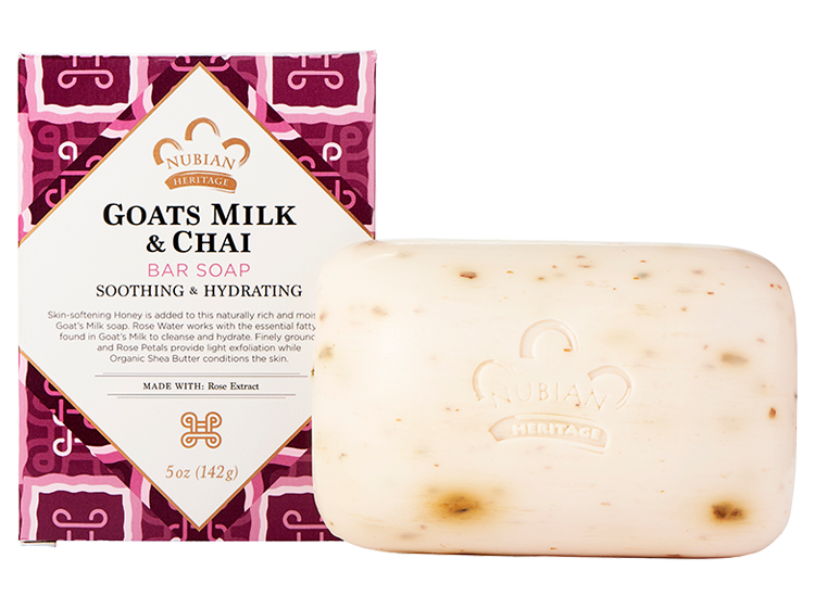 Goats Milk and Chai Soap organic and vegan soap