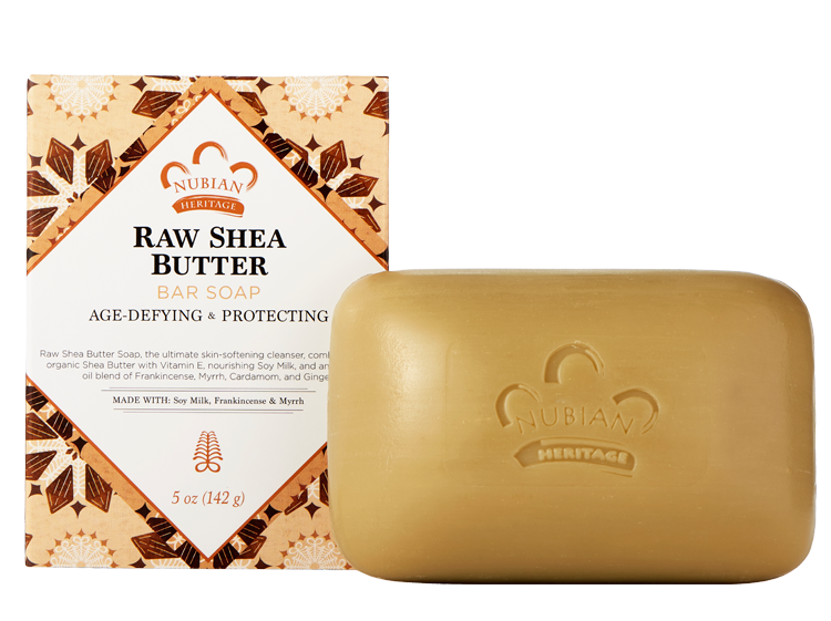 Nubian Heritage Raw Shea Butter Soap