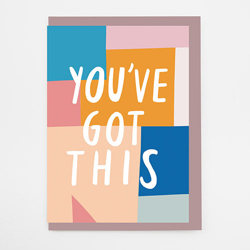 You've Got This Art Card