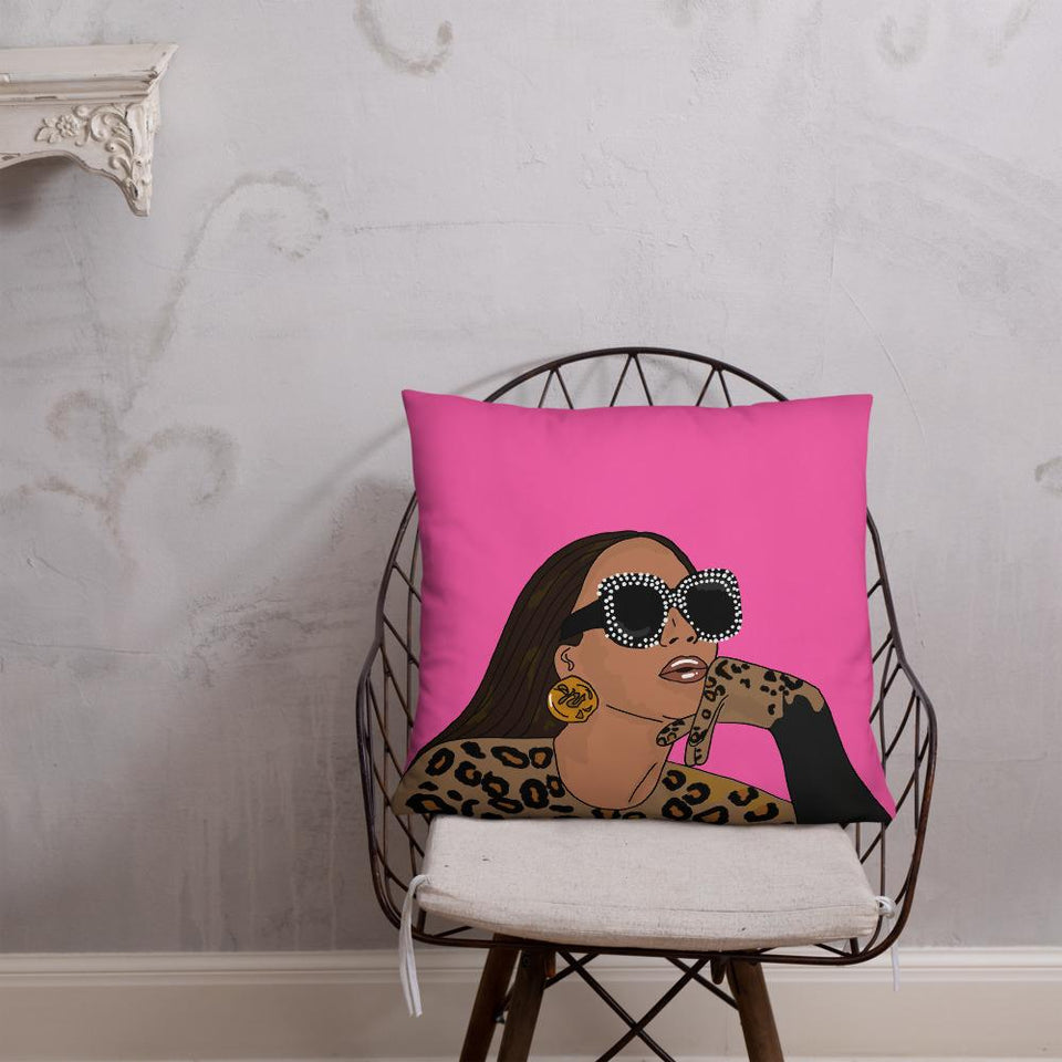 Bey-Lack Is King Art Cushion