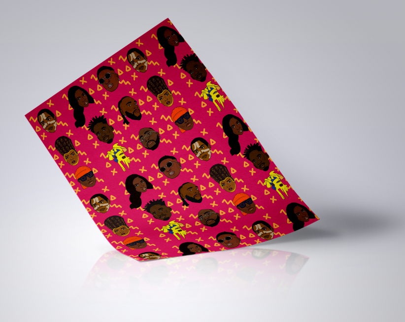 Afrobeats Wrapping Paper
