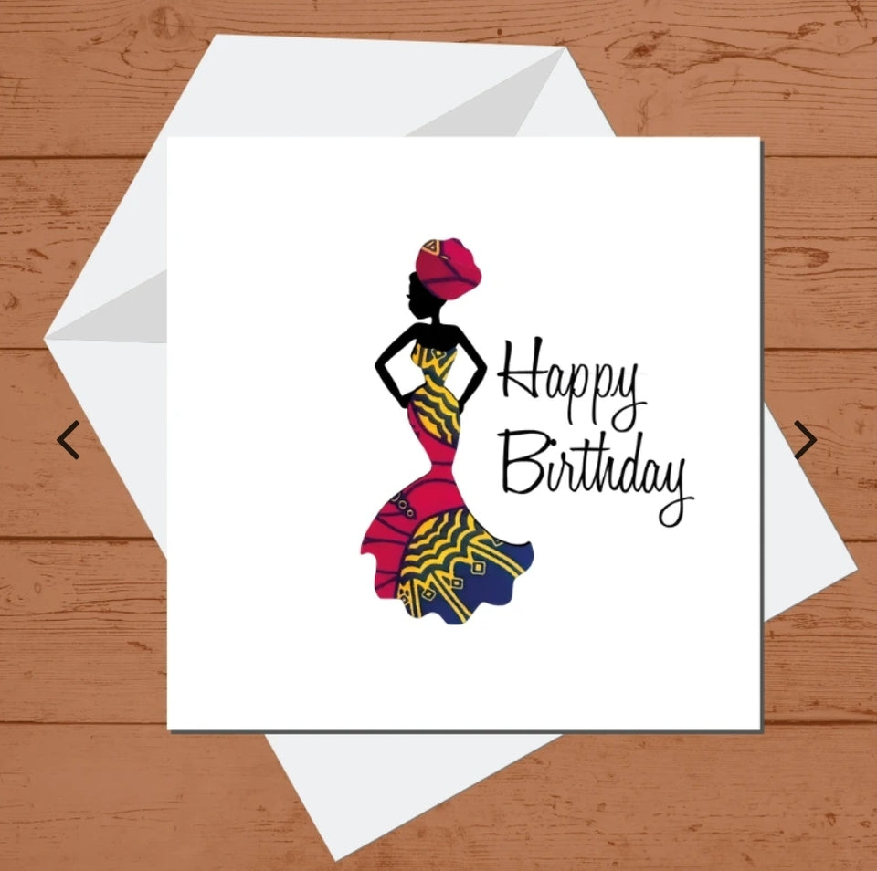 Chinyere Birthday Card