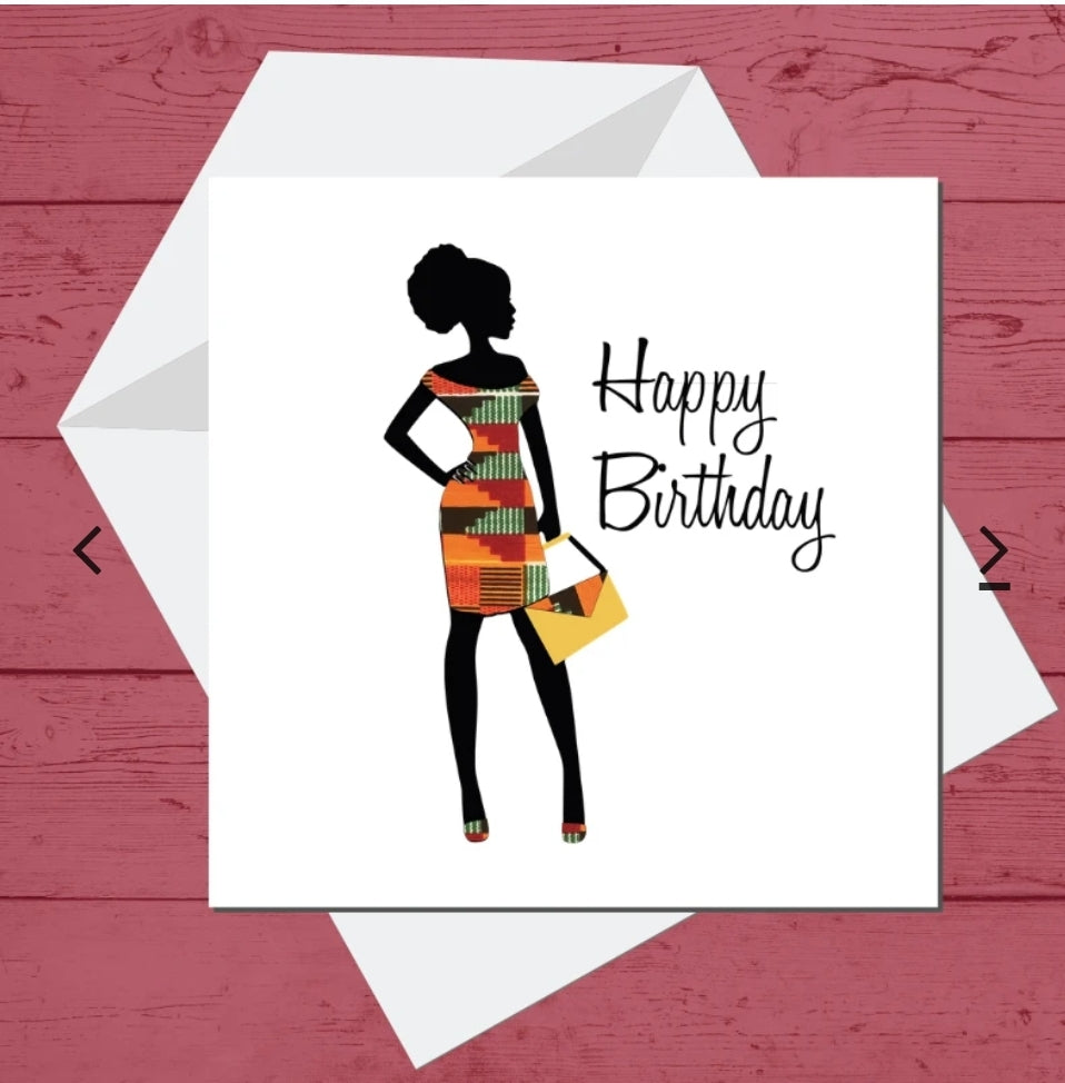 Nneka Birthday Card
