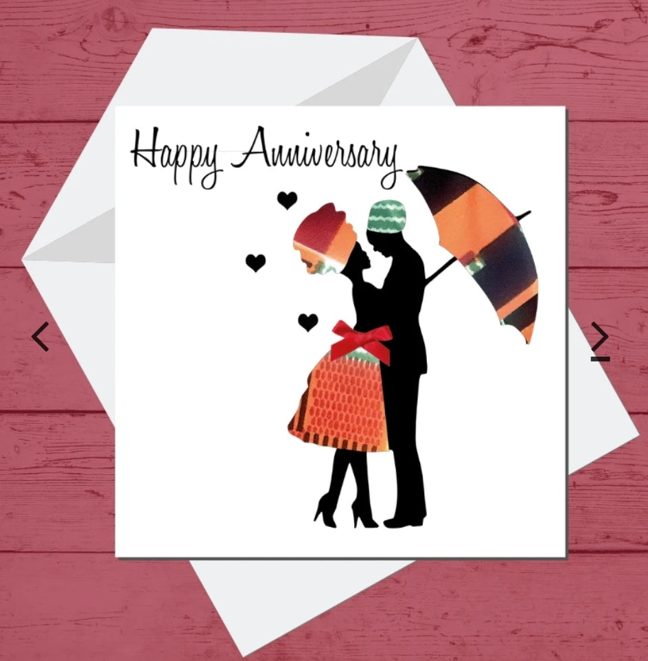 Living In Love Anniversary Card