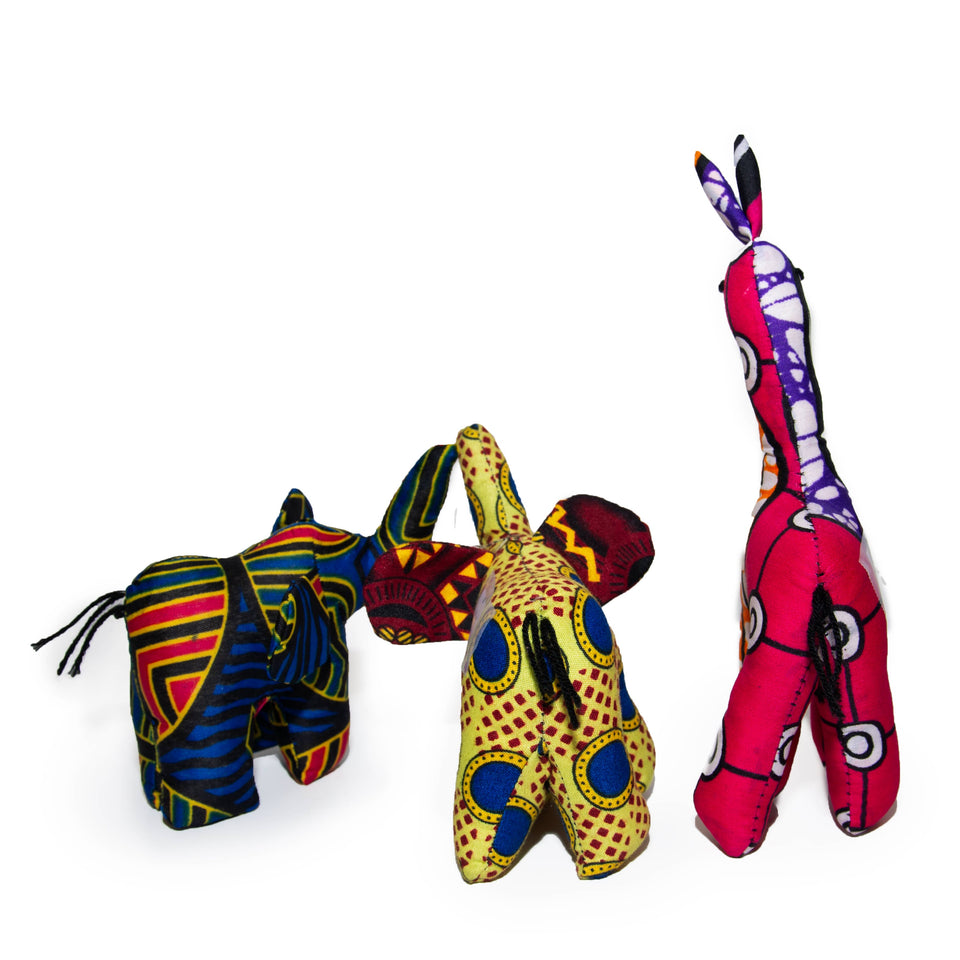 Handmade African Animals (Small)