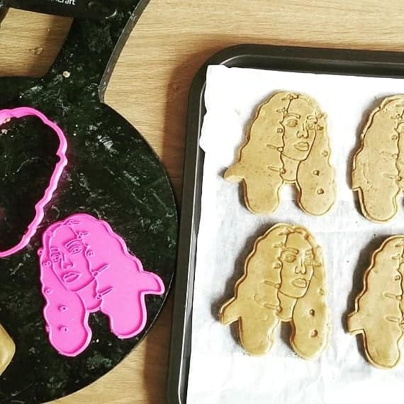 Don't Touch My Cookies (Solange Cookie Cutter)