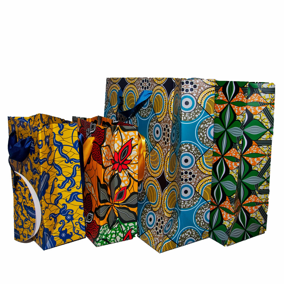 African Print Gift Bag (Large)