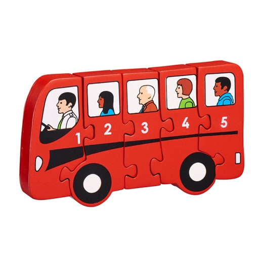 Fair Trade Bus Jigsaw Puzzle