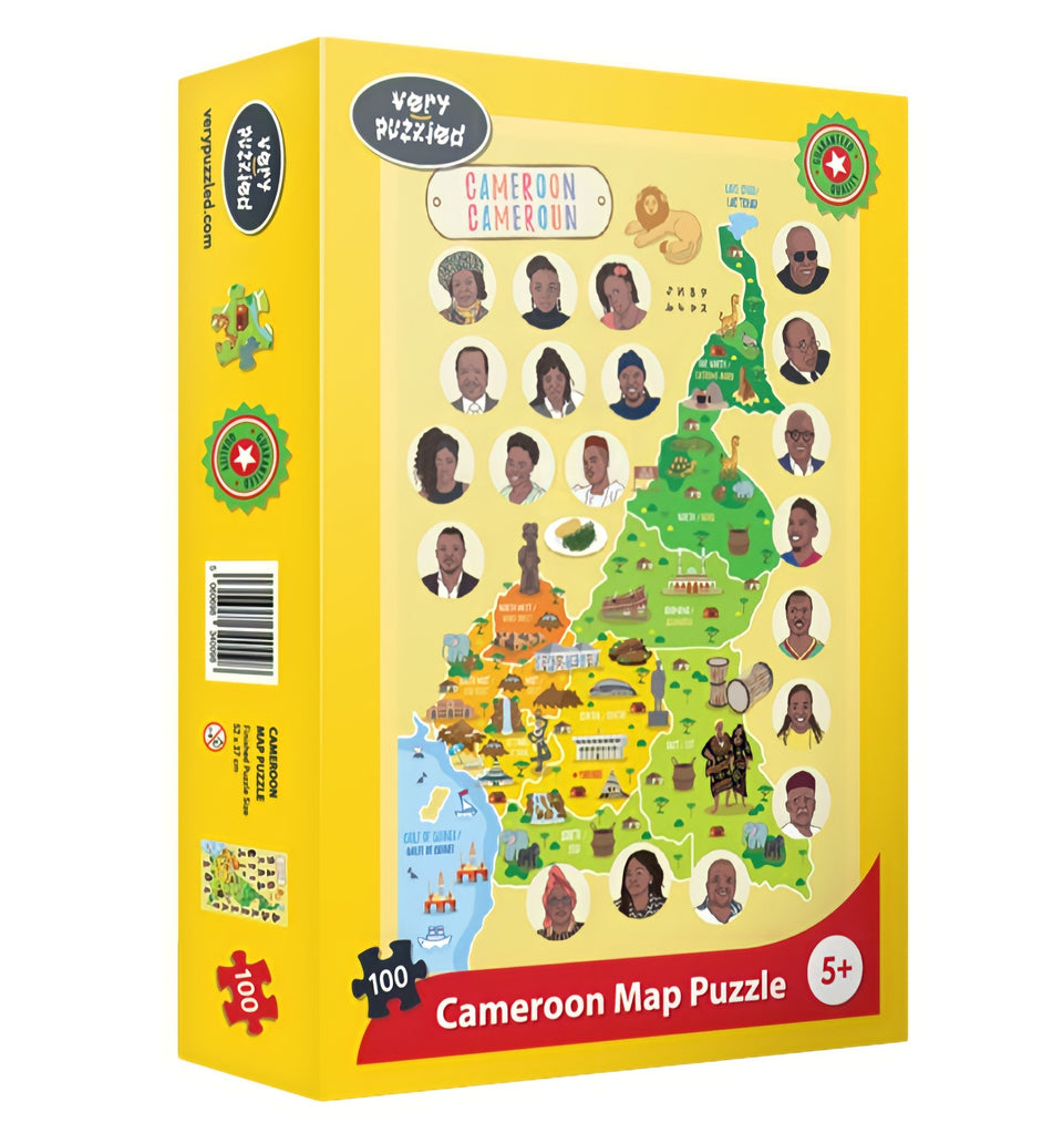 Cameroon Map Puzzle