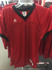 Replica Red & Black Russell Football Jersey