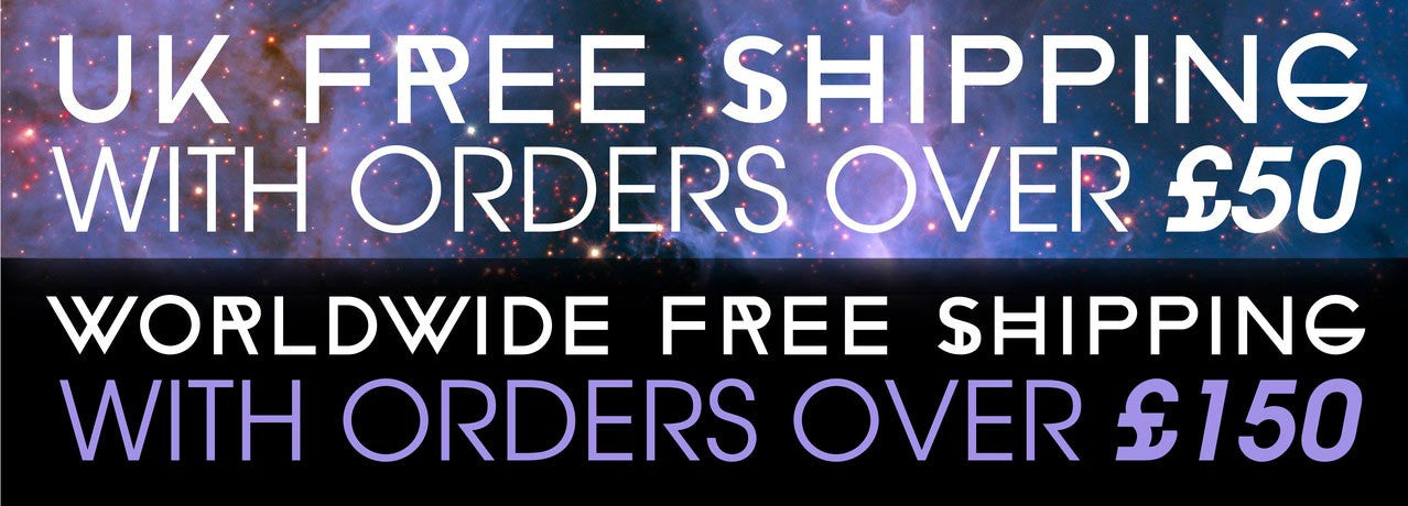 Free UK shipping for orders over £50