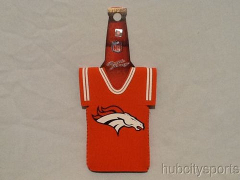 Denver Broncos NFL Neoprene Bottle Jersey Koozie Beer Holder Orange