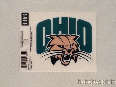 Ohio Bobcats Static Cling Sticker NEW!! Window or Car! NCAA