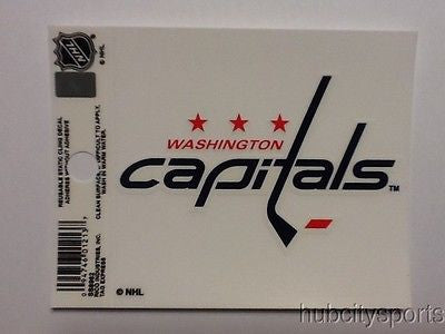Washington Capitals Logo Static Cling Decal Sticker NEW!! Window or Car!