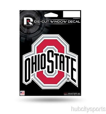 "Ohio State Buckeyes Die Cut Decal 5"" x 6"""