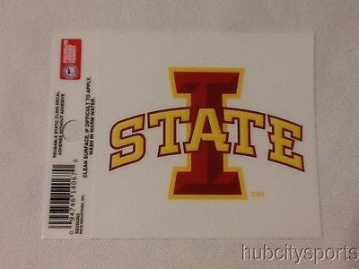 Iowa State Cyclones Static Cling Sticker NEW!! Window or Car! NCAA