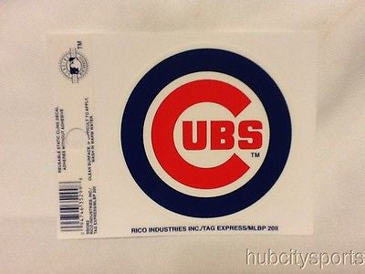 Chicago Cubs Static Cling Sticker NEW!! Window or Car!