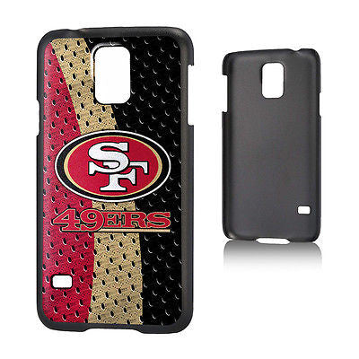 San Francisco 49ers Samsung Galaxy S5 Phone Hard Case Durable Plastic NFL