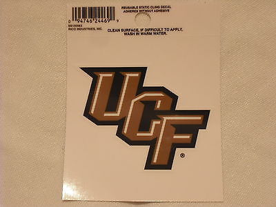 Central Florida Knights Logo Static Cling Sticker NEW!! Window or Car! NCAA UCF