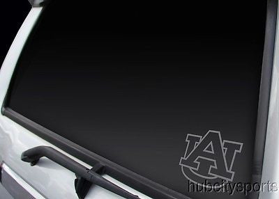Auburn Tigers Logo Window Graphic Decal NEW!! Chrome FREE SHIPPING!!!