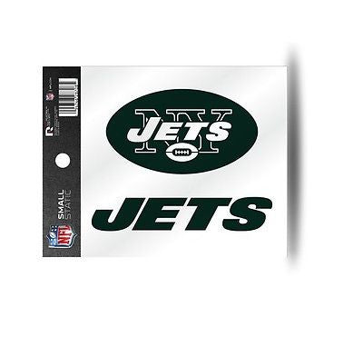 New York Jets Logo Static Cling Sticker NEW!! Window or Car! Tim Tebow