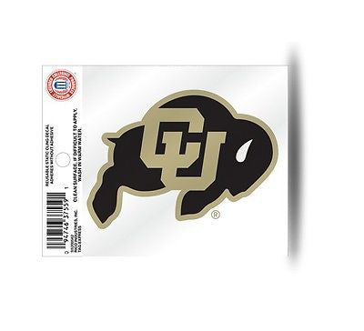 Colorado Buffaloes Static Cling Sticker NEW!! Window or Car! NCAA