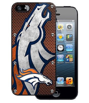 Denver Broncos iPhone 5 Hard Phone Cover Protector Case Durable Plastic NEW