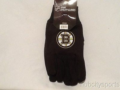 Boston Bruins Sport Utility Work Gloves NEW! NHL Free Shipping