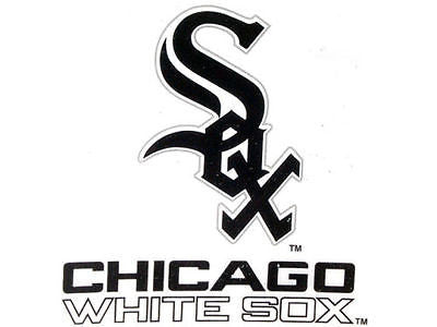 Chicago White Sox Window Static Cling Decal Free Shipping! MLB