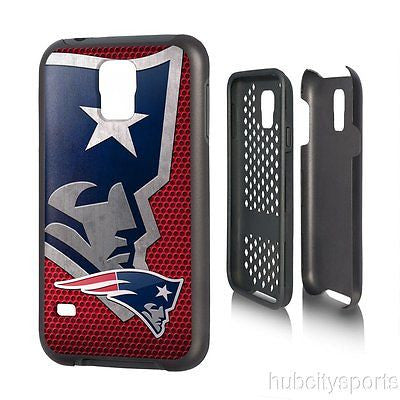New England Patriots Samsung Galaxy S5 Phone Rugged Phone Cover Durable NFL NEW