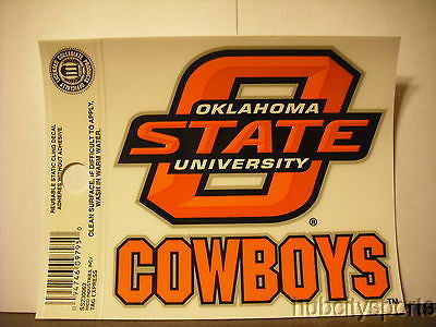 Oklahoma State Cowboys Small Window Cling